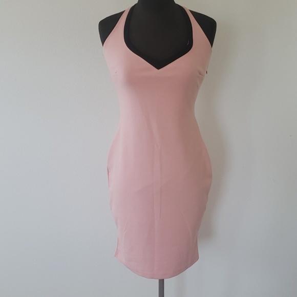 Kardashian Kollection Dresses & Skirts - Kardashian Kollection halter dress size large